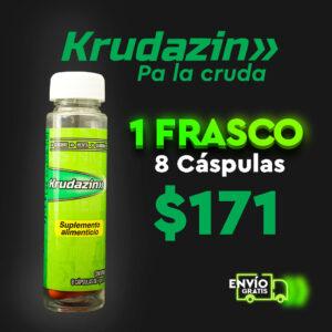 1 Frasco Krudazin