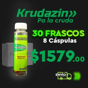 30 Frascos de Krudazin